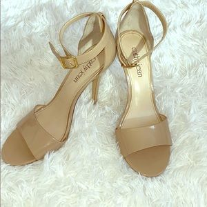 Cathy Jean nude Heels with ankle strap